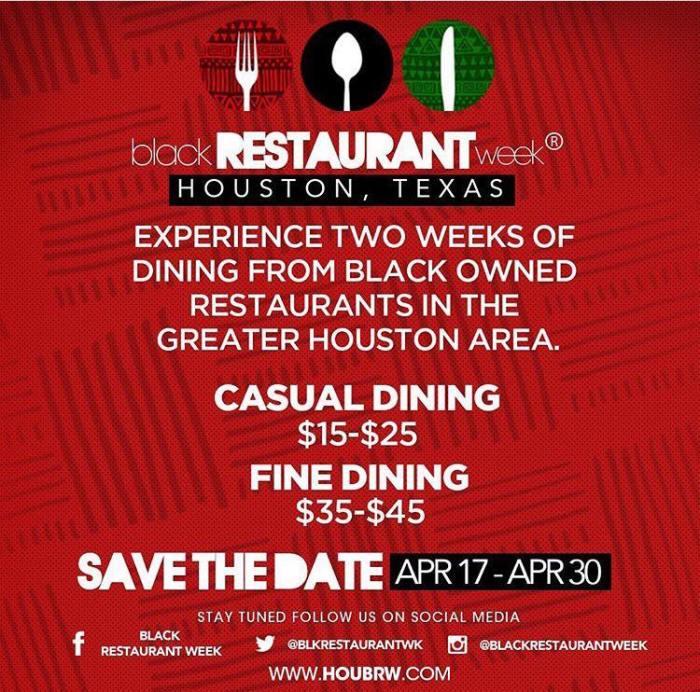 Black Restaurant Week - Houston